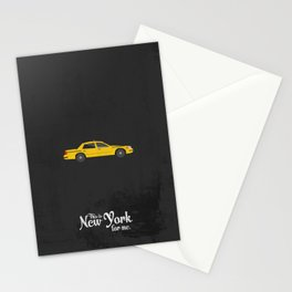 "This is New York for me. ""Cab"" Stationery Cards"