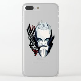 Bjorn Ironside Clear iPhone Case