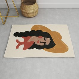 Abstract Cowgirl 2 Rug