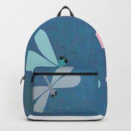 Pastel Butterflies Minimalism Backpack