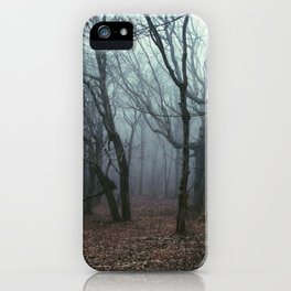 Foggy Max Patch Woods iPhone Case