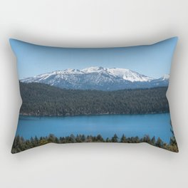 Carson Range Photography Print Rectangular Pillow
