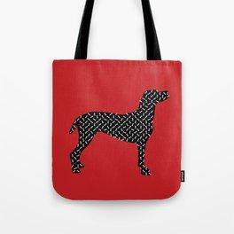 the greedy dog Tote Bag