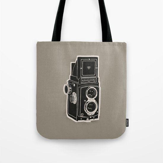 Rolleicord Tote Bag