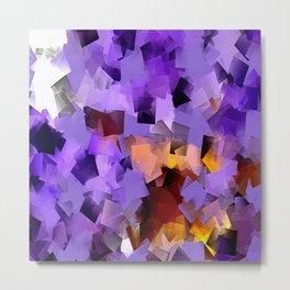 Purple Chaos... Metal Print