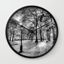 Green Park London Art Wall Clock