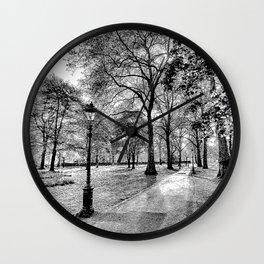 Green Park London Art Wall Clock