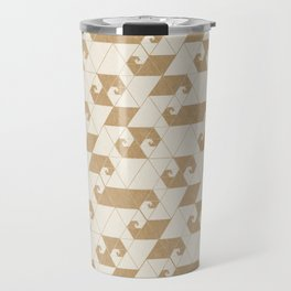 Fractal Wave L Travel Mug