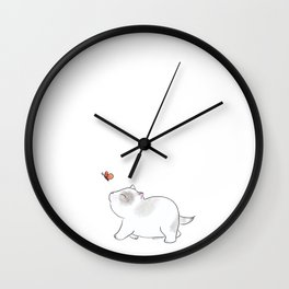 Wait for me, Butterfly. Wall Clock