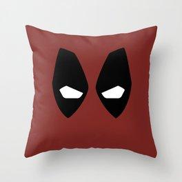 Dead pool superhero Throw Pillow