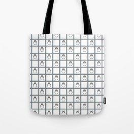Friendly Neighbor (grid) Tote Bag