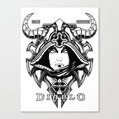 Diablo III. Demon Hunter Canvas Print