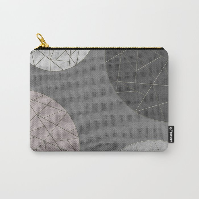 BROKEN (abstract geometric) Carry-All Pouch