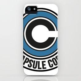 Capsule Corp. iPhone Case