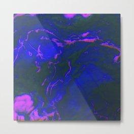 Neon Nightriders Metal Print