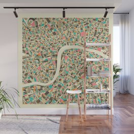 LONDON MAP Wall Mural