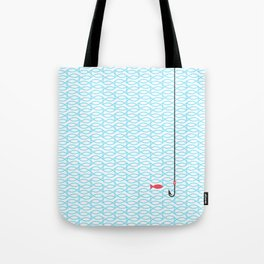 The red fish Tote Bag