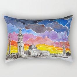 Sultan Qaboos Grand Mosque, Muscat, Oman Rectangular Pillow