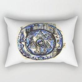 World through time Rectangular Pillow