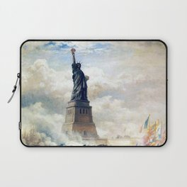 Statue of Liberty Unveiling Laptop Sleeve