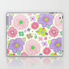 happy flowers Laptop & iPad Skin