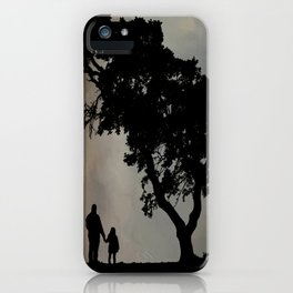 Grandpa Tell Me About The Good Old Days iPhone Case