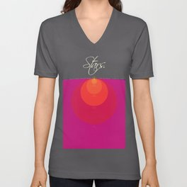 Stars and Suns Comparison Unisex V-Neck