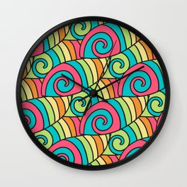 Colored 80 0 Wall Clock