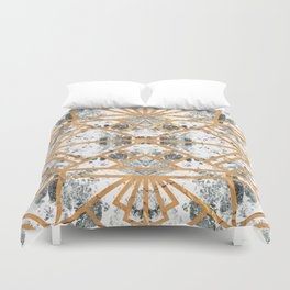 Marble Deco Shade One; Duvet Cover
