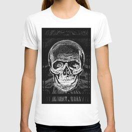 Skull (Black and White) T-shirt