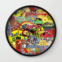 Kids shows from our Childhood Wall Clock