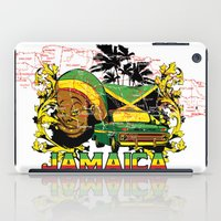 jamaica iPad Cases featuring Jamaica by Tshirt-Factory