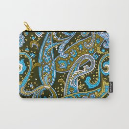 Paisley Print Carry-All Pouch