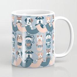 Knitting dog feelings I Coffee Mug