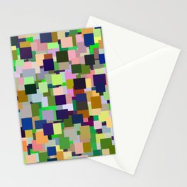 color rectangles 002 Stationery Cards