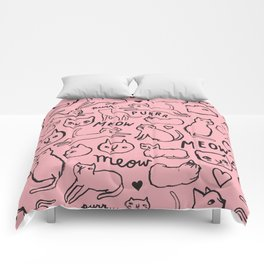 Meow Cats Comforters