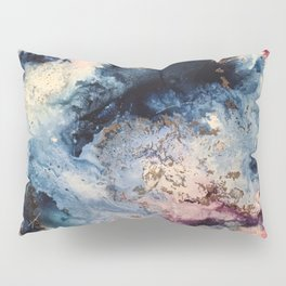 Rage - Alcohol Ink Painting Pillow Sham