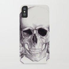 Skull iPhone X Slim Case