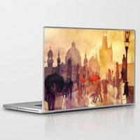 takmaj Laptop & iPad Skins featuring Charles Bridge by takmaj