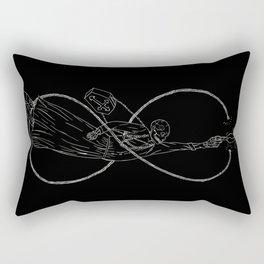 Death is a woman Rectangular Pillow