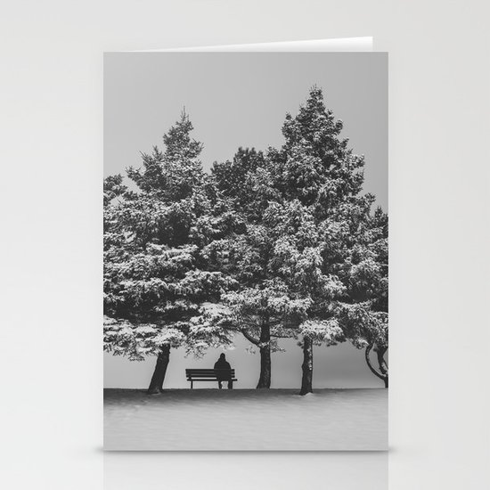 Winter Solitude Stationery Cards