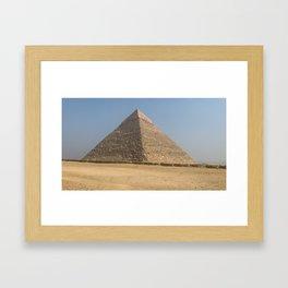 Egypt - Great Pyramids of Giza Framed Art Print
