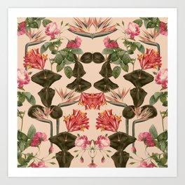 Wild Nature Pattern Art Print