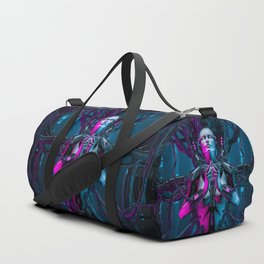 The Quantum Zen Queen Duffle Bag