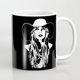 PORTRAIT OF A COUNTRY FEMALE SINGER,ACTRESS AND SUPERSTAR Coffee Mug