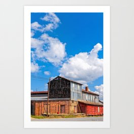 Echoes Of Rural Industry Art Print