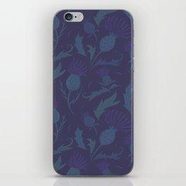 Purple Thistle iPhone Skin