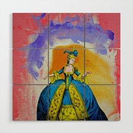 Marie Antoinette by Michael Moffa Wood Wall Art