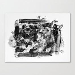 Abstract Dark Canvas Print