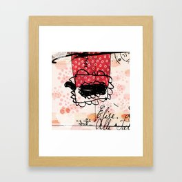 Pattern art print Framed Art Print